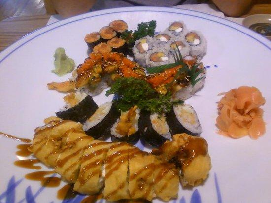 Sushi 21: sushi!