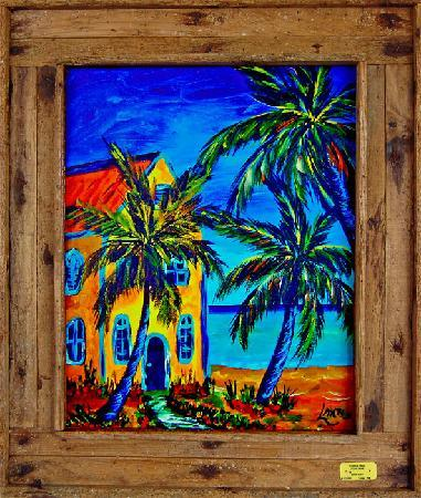 One of our paintings - Picture of Lobster Trap Art Gallery, Islamorada ...