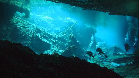 Secrets Maroma Beach Riviera Cancun: More Cave diving