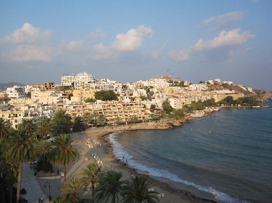 Hotel Ibiza Playa: Ausblick vom 6. Stock