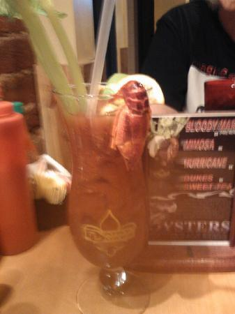 Daisy Dukes: Bloody Mary with Crawfish