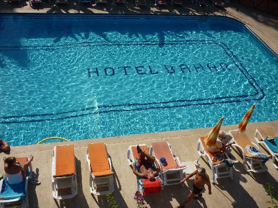 Bahar: hotel pool