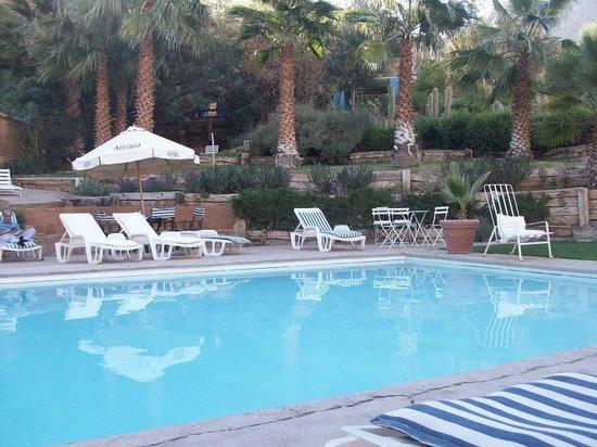 Pisco Elqui, Cile: La piscina