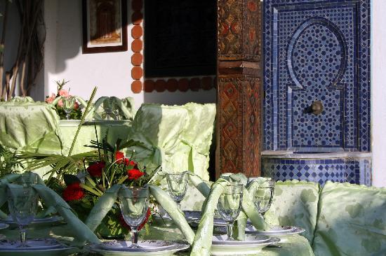 Riad du Pêcheur Safi : le restaurant