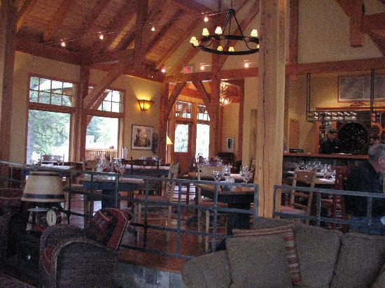 Cathedral Mountain Lodge: le restaurant
