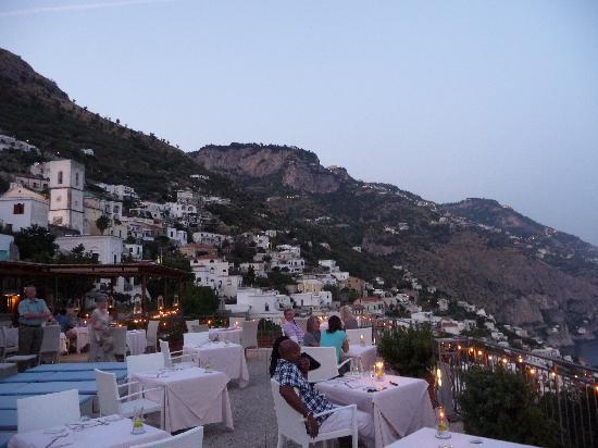 Hotel Margherita: Rooftop Restaurant