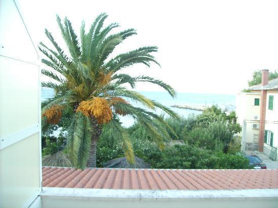 Villa Pitomcia: ausblick vom Balkon