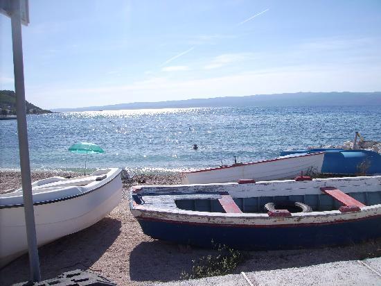Villa Pitomcia: Der Strand