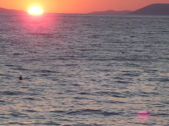 Villa Pitomcia : der Sonnenuntergang