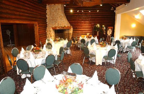 Hotel Mont Gabriel: notre salle de réception