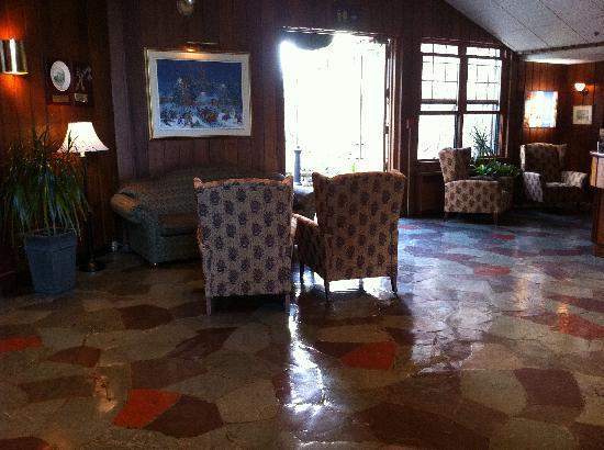 Hotel Mont Gabriel: le hall