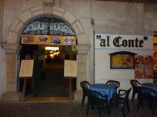 Pizzeria Al Conte : Eingang