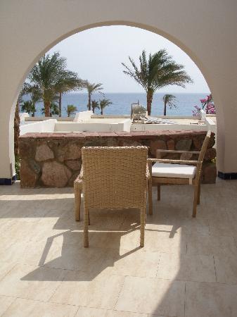 Le Meridien Dahab Resort: private terrace