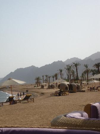 Le Meridien Dahab Resort: the beach at Le Meridien