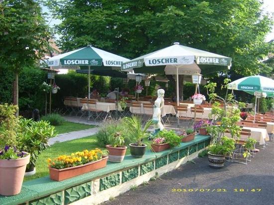Gasthaus Freyung - Taverna bei Vassili: Biergarten