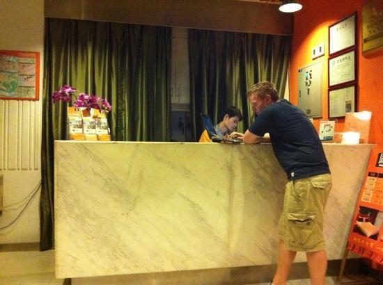 Garden Inn Guangzhou Zhongshan Forth Road: the struggle to check in
