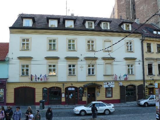 Hotel U Krize: The hotel