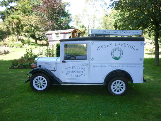 Sprigs Cafe at Jersey Lavender : The Van!