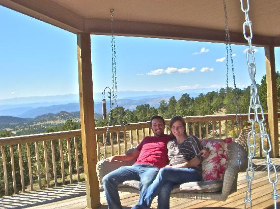 Whispering Pines Bed and Breakfast and Vacation Home Rental: Hated to leave this spot!