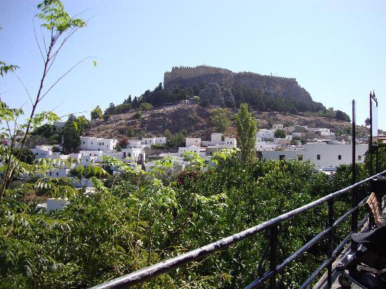 Doreta Beach Hotel : Lindos and the Acropolis