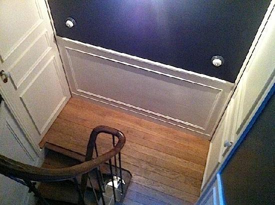 L'Hotel Particulier : L'escalier