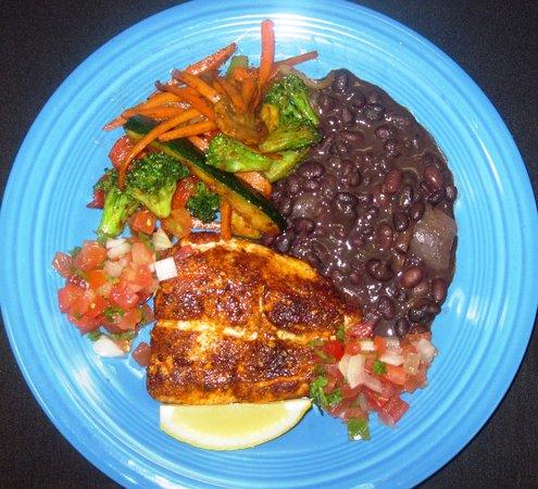 Javier's Cuisine: Lunch Salmon