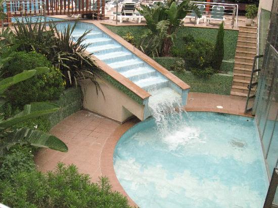 Waterfall Picture Of Golden Port Salou Salou TripAdvisor - Hotel golden port salou