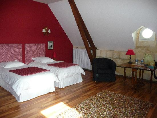 Neac, France: Twin room at the top