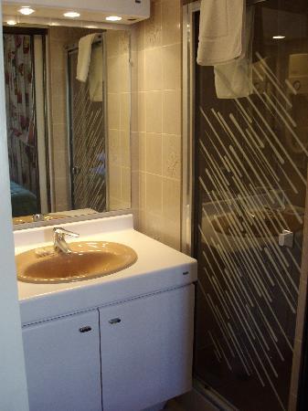 Best Western Hotel Le Dauphin Le Spa Du Prieure : bagno