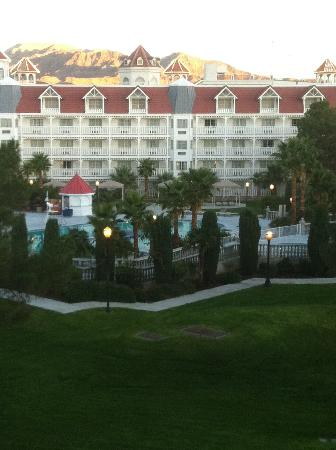 Primm Valley Resort & Casino: View from my room, not too bad.