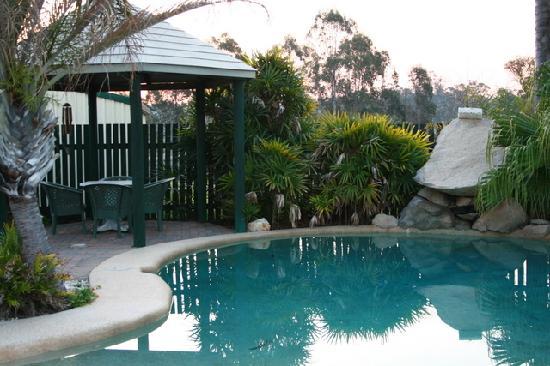 Swimming Pool at Wondai Colonial Motel