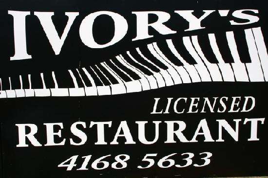 Wondai Colonial Motel : Ivory's Licensed Restaurant