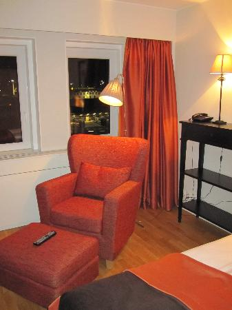 Bizapartment Gärdet: Living area.
