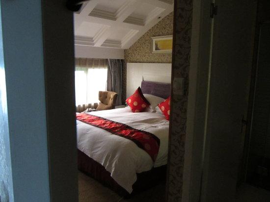 Yiwu Friend Hotel: bedroom