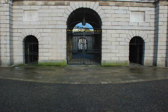 King's Inns: Ominous entrance