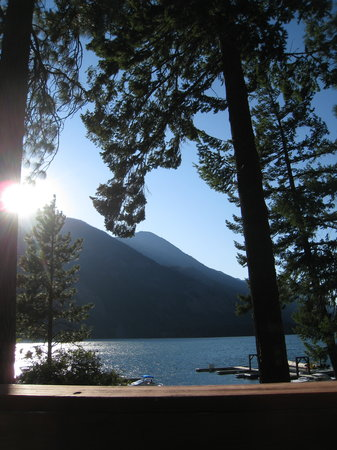 Stehekin, Вашингтон: View from Landing Resort