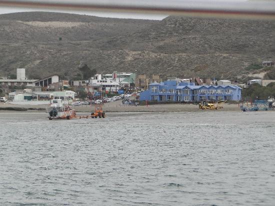 Las Restingas Hotel de Mar: el hotel desde el mar