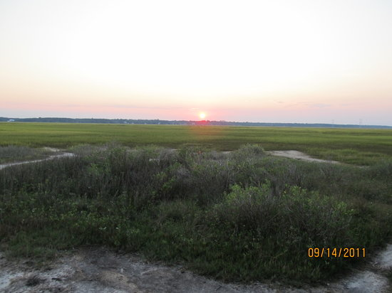 Carolina del Sur: Marsh at James Island