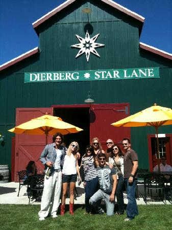 Stagecoach Wine Tours Santa Ynez: Our group!!