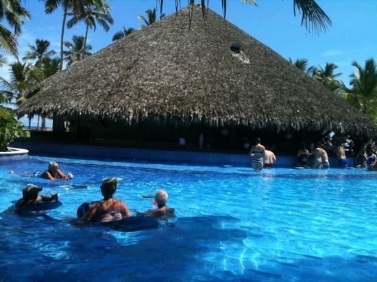 Dreams Punta Cana Resort & Spa: the fab bar in the pool