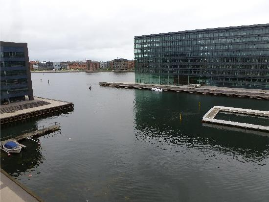 Copenhagen Island Hotel: View from room