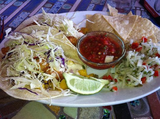 Robin's Restaurant: Halibut Tacos