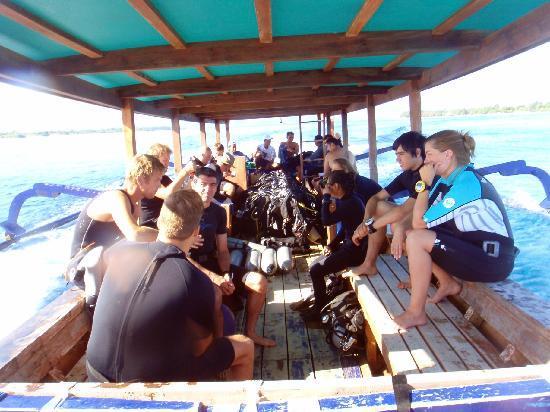 Blue Marlin Dive Gili Trawangan: the boat