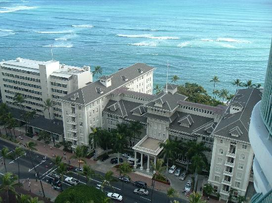 โรงแรมเชอราตันพริ๊นเซสไคอูลานี่: ラナイからの眺め