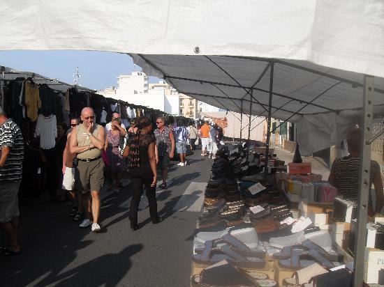 Can Pastilla, España: market