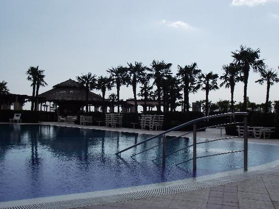 DIT Majestic Beach Resort: evening near the pool