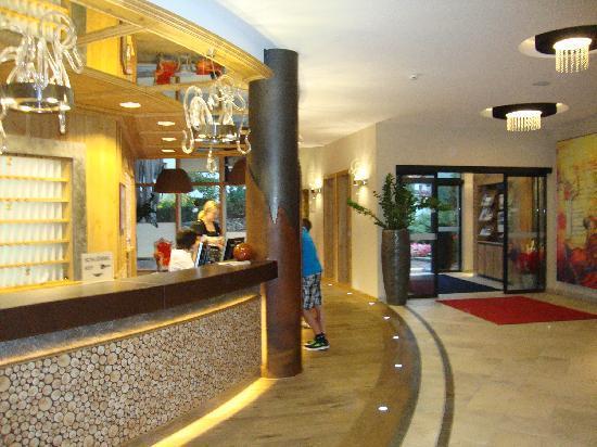Hotel Mozart Vital: l'entrée