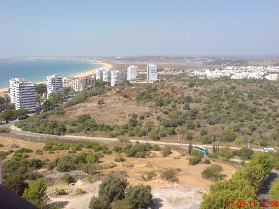 Pestana Delfim All Inclusive: View from room 1614 (top floor).