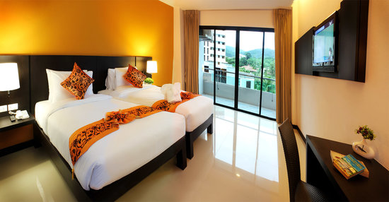 Simplitel Hotel : Studio Room Twin Bed