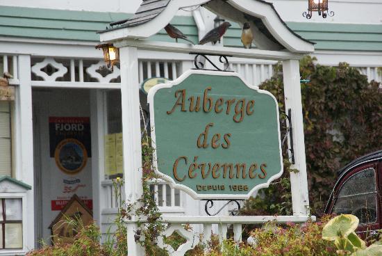Auberge des Cevennes: Anse St-Jean, Auberge des Cévennes